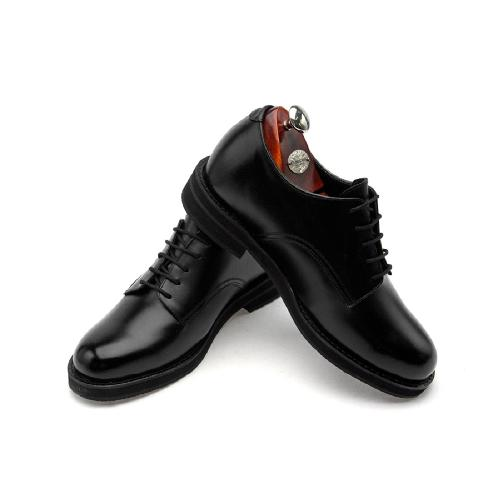 HANDMADE ELEVATOR Men's DRESS DERVY SHOES(EL0025BK)